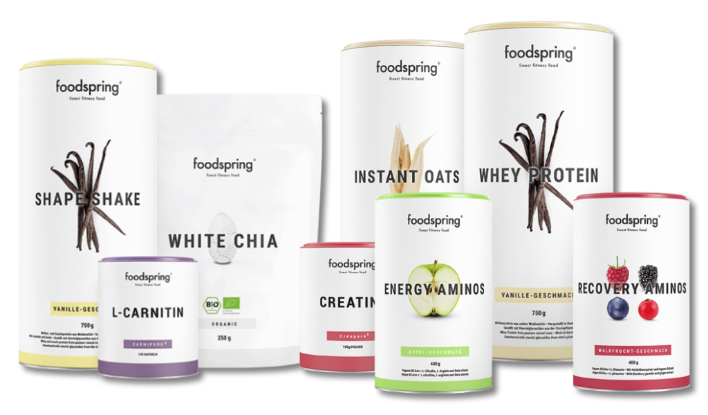 Compléments alimentaires Foodspring